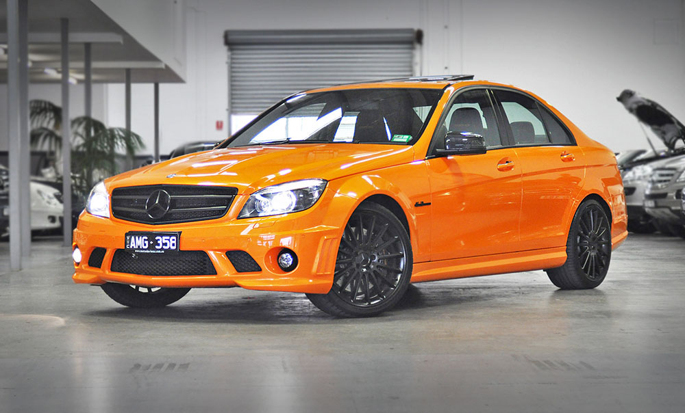 The Jaffa - Mercedes-Benz C63