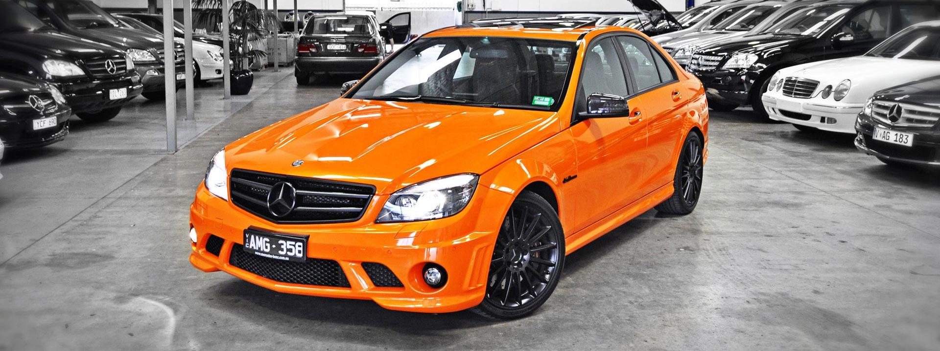 Slider-Benz-C63-Orange-Jaffa