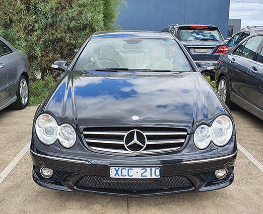 2008 MERCEDES-BENZ CLK350 AVANTGARDE C209 MY08