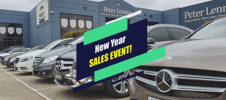 New Year Sales Event