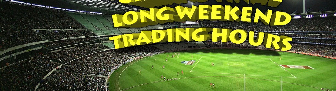 AFL Grand Final Public Holiday hours