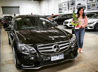 Congratulations May on your E400!