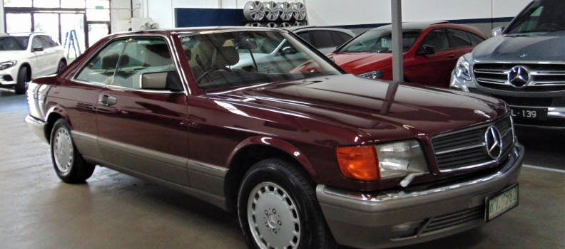One very special Mercedes-Benz