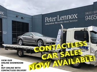 Open for Contactless Car Sales!