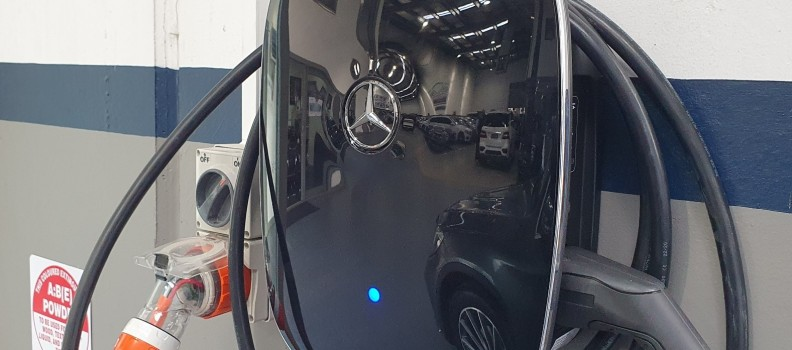 FREE Mercedes EV Charging now available!