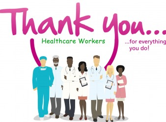 Saying thank you to our Healthcare workers