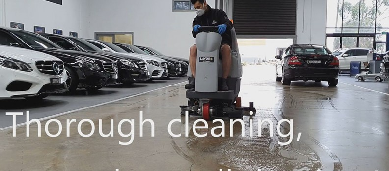 COVID-19: Thorough cleaning procedures