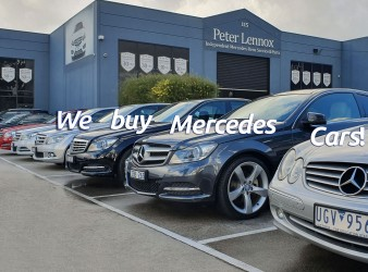 Sell your Mercedes without the hassle!